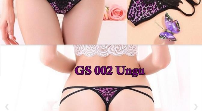G string Cewek GS 002