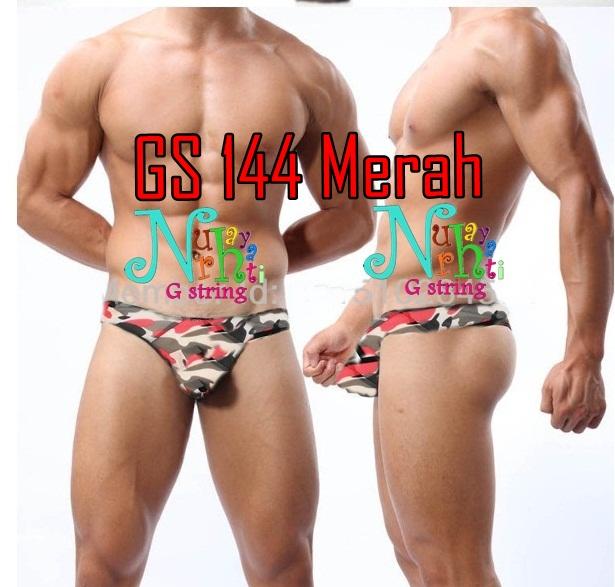 G string Cowok GS 144 merah
