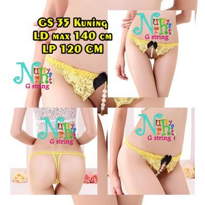 G string Cewek Open Croth GS 35