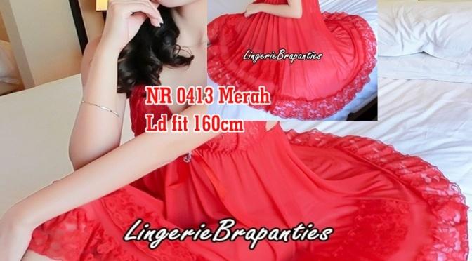 Grosir Baju Tidur NR 0413 Merah