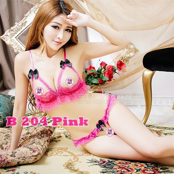 Bra Open B 204 Pink