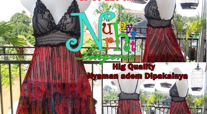 Jual Lingerie Di Bogor NR 2400 Merah