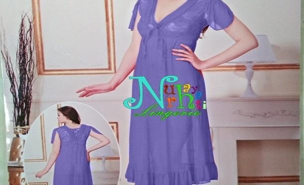 Jual Gaun Tidur NR 4477 Biru