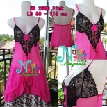 NR 2586 Pink Rp 100.000,- lingerie + Gstring Ld fit to 110 cm High Quality