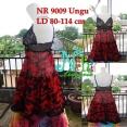 NR 9009 Merah Rp 110.000,- lingerie + Gstring Ld fit 80 to 115 cm High Quality