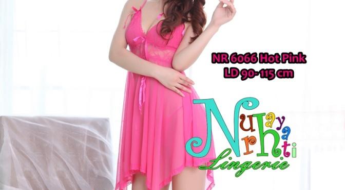 Baju Tidur Lingerie NR 6066 Hot Pink